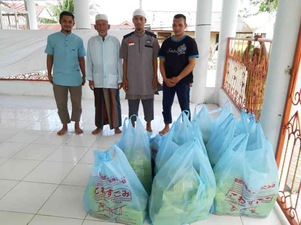 dokumentasi penyaluran buka puasa infaq dari sahabat Syiar Tauhid Aceh untuk bulan Ramadhan 1440 H/ 2019 M.