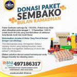 Laporan Donasi Sembako Menjelang Ramadhan 1442 H